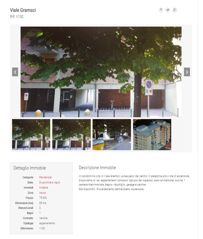 Case in vendita modena e provincia for Negozi arredamento modena e provincia